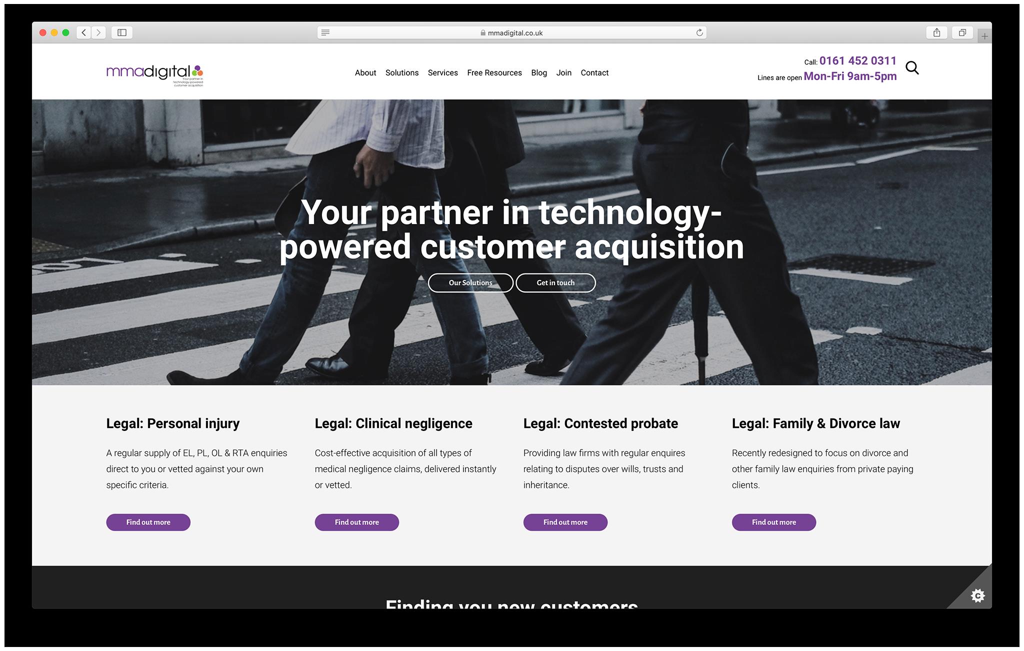 mma digital website