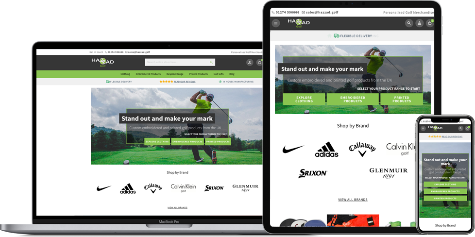 Hazzad Golf on all devices